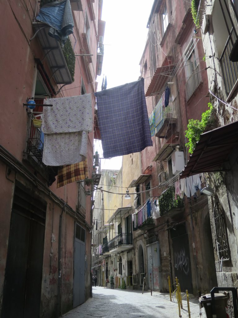 The streets of Naples - a grittier side of Italy.