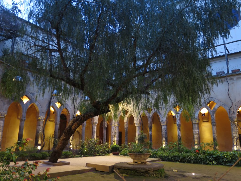 Find peace inside the Chiostro di San Francesco.