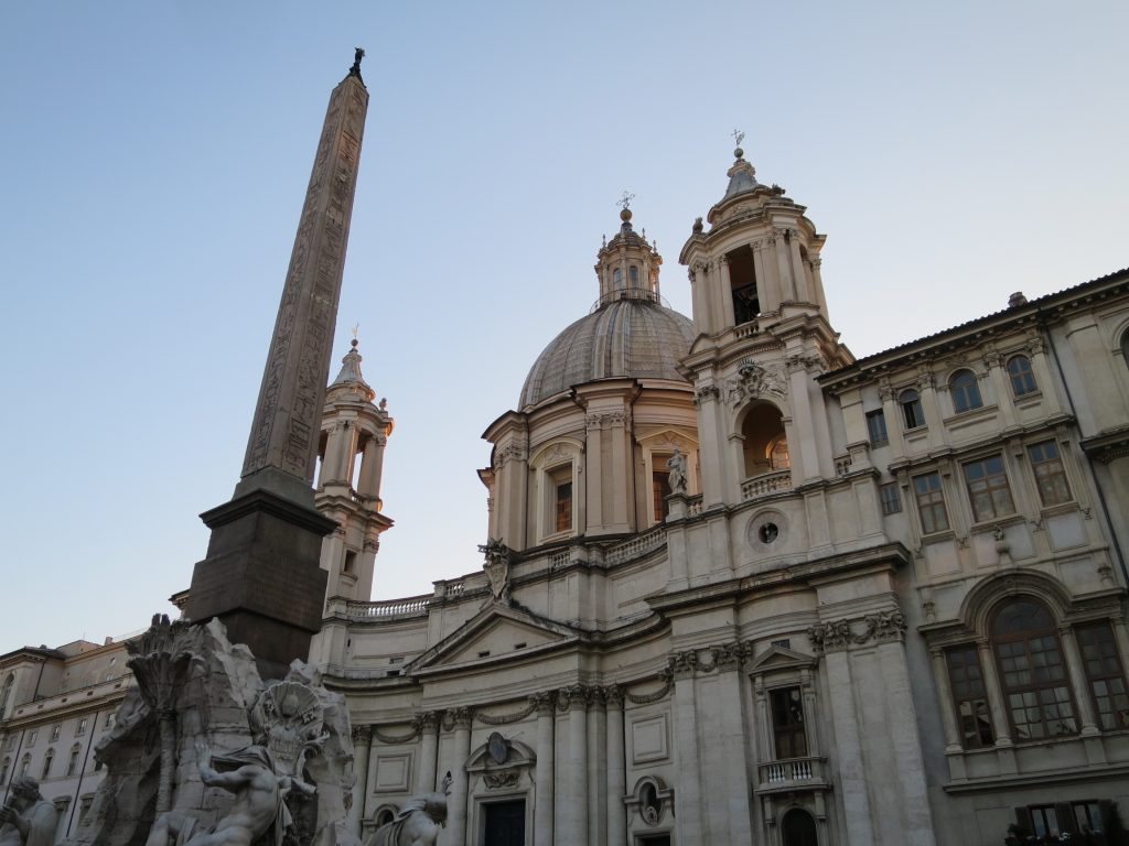 The side streets beside Piazza Navona are a treasure trove of great eateries.