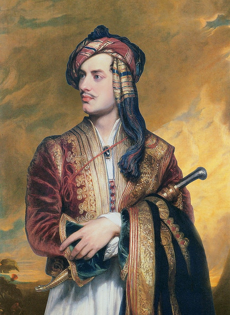 Lord Byron, ©The Public Domain Review, Flickr