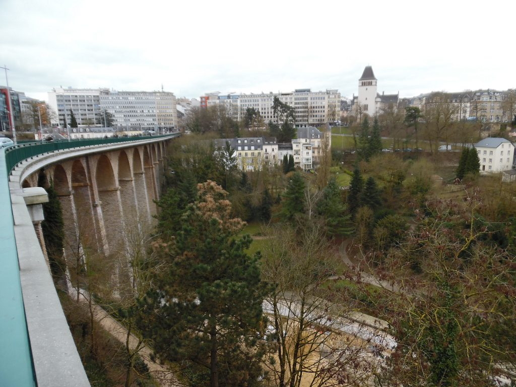 The Grund from the Viaduct.