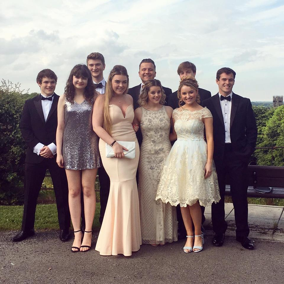 Durham Cathedral is the perfect backdrop for a formal photograph