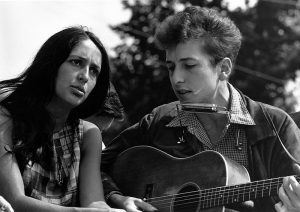 Dylan with Joan Baez, 1963