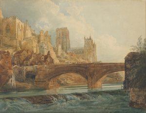 A portrait of Durham by Thomas Girtin, c. 1800