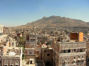 Sana'a, Yemen's beautiful capital and one of the world's oldest cities, has been devastated by years of civil strife. (Franco Pecchio)