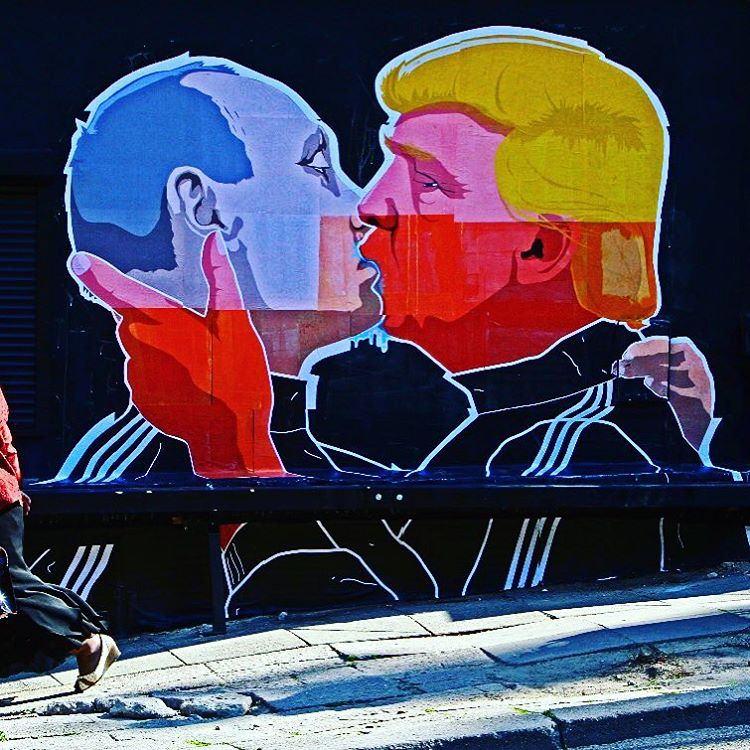 PutinTrump Kiss