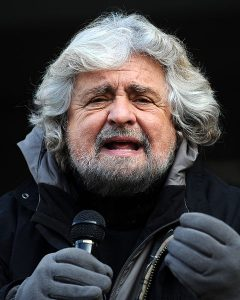 Beppe Grillo, the charismatic leader of the surging Five Star Movement party, is vehemently supporting a 'No' vote this Sunday