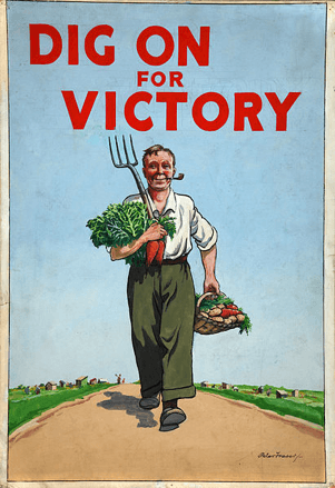 Image via Wikicommons: 'Dig For Victory' WWII poster