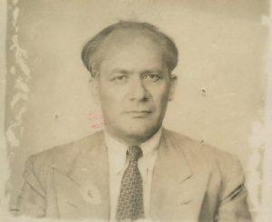 A portrait of Raphael Lemkin
