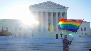 Landmark decisions such as last year's legalisation of marriage equality, and 1973's Roe v. Wade which allowed abortion nationwide, could come under threat with a Trump presidency
