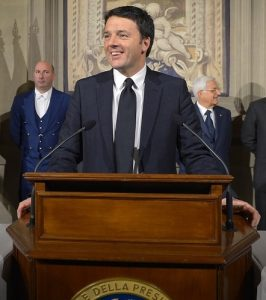 Renzi, Italy's young and charasmatic leader, has put his political future on the line by promising to resign if the 'Yes' side doesn't win