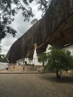 Damballa Caves, Sri Lanka. Author's Own Image.