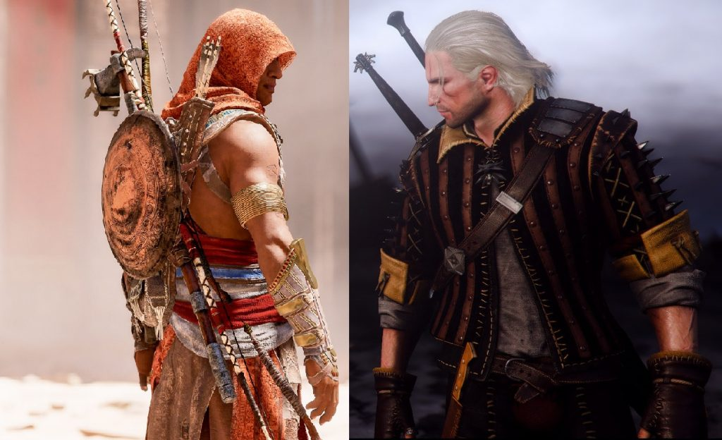Assassin S Creed Origins Another Witcher 3 Analogy The Bubble