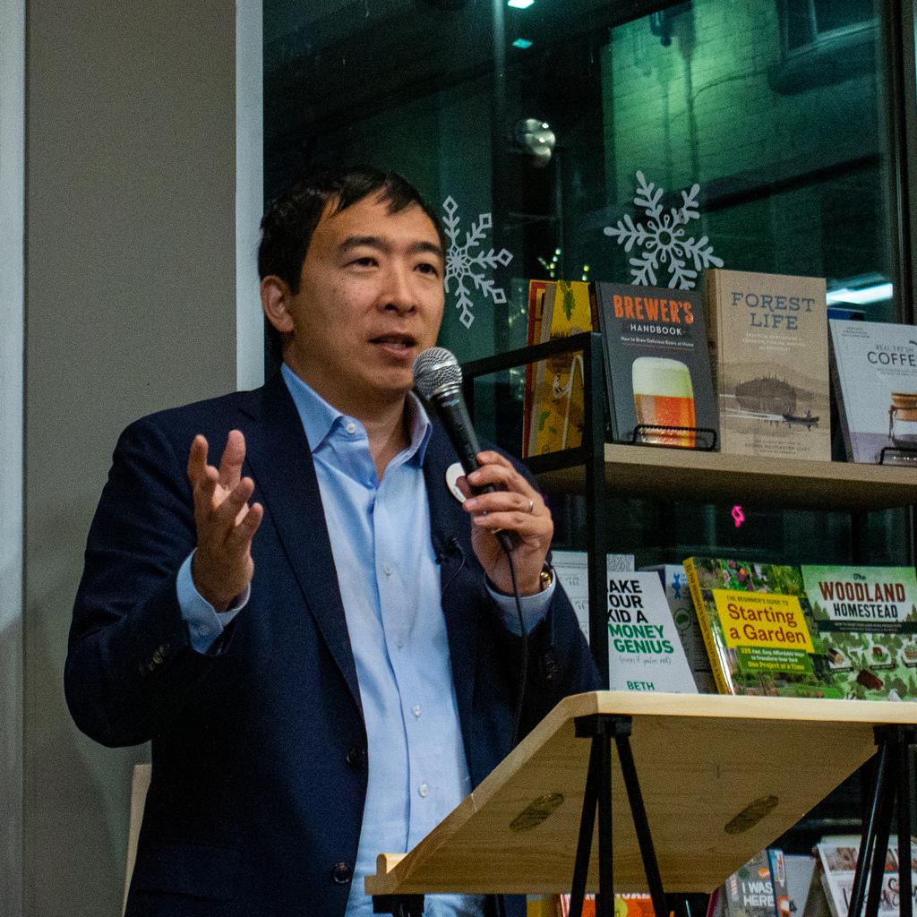 Andrew Yang The Democratic Dark Horse The Bubble