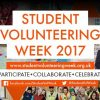 Student Volunteering Week: Top ten reasons why you should get involved